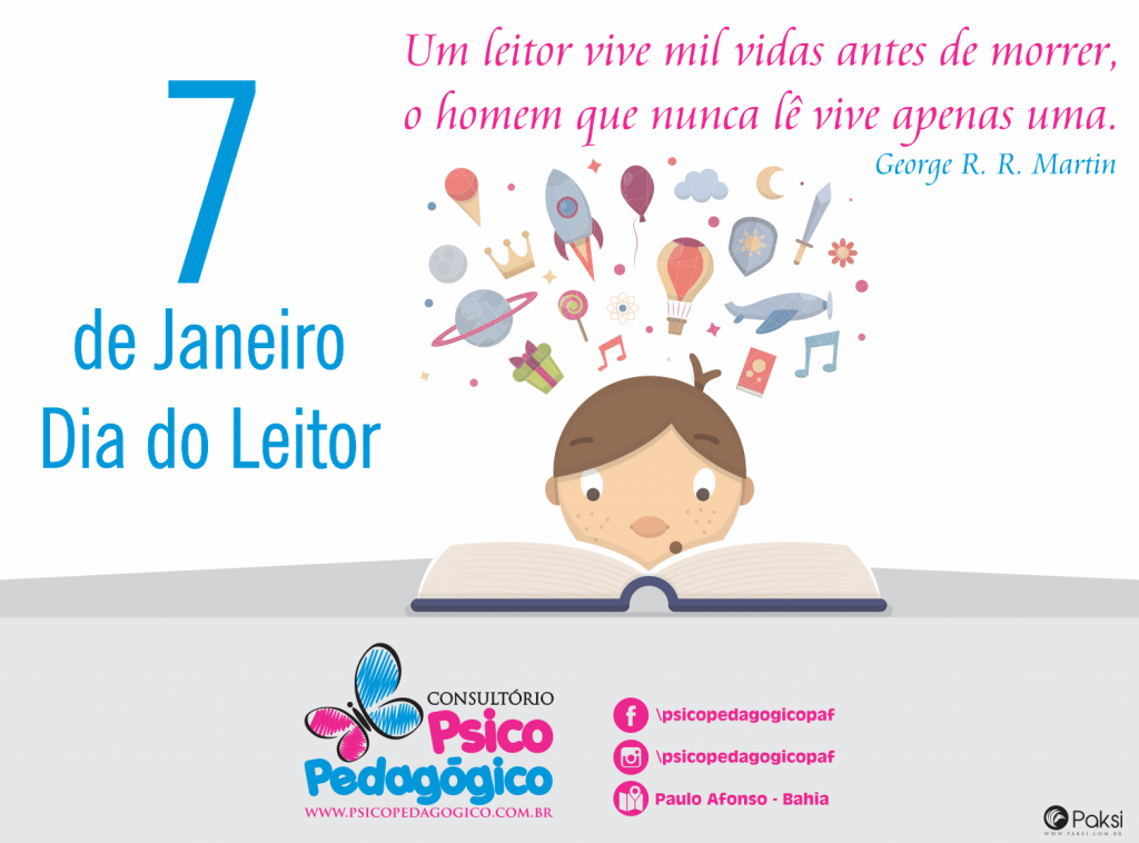 Dia do Leitor 7-jan - 2016